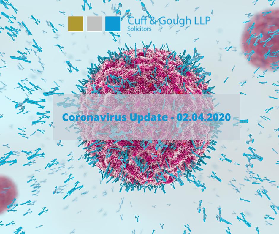 corona update 2 april